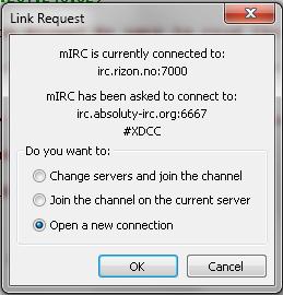 mIRCConnectToServer