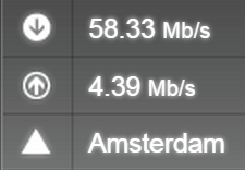 IPVanish Netherlands L2TP Speedtest.net 2